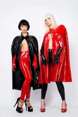 Latex Women's Cape, Short 1107