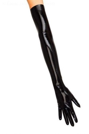 Men's Long Latex Gloves, Thick Latex 1108-06M
