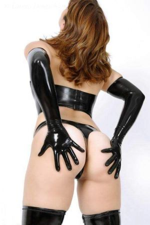 Women's Long Gloves, Thick Latex  1108-06