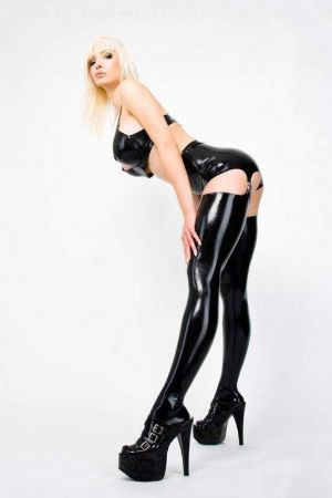 Latex Stockings 1120