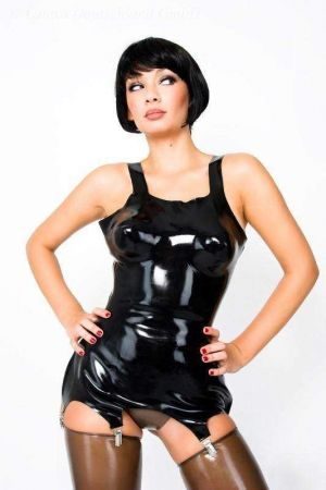 Latex Corselet, Thick Latex 1137