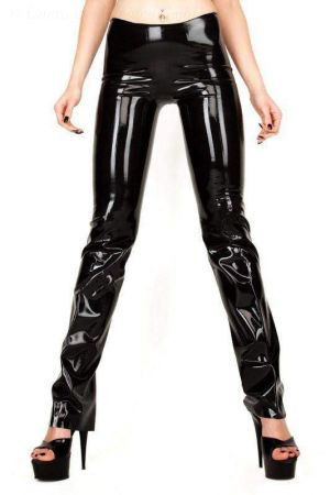 Latex Women's Pants, Thick Latex