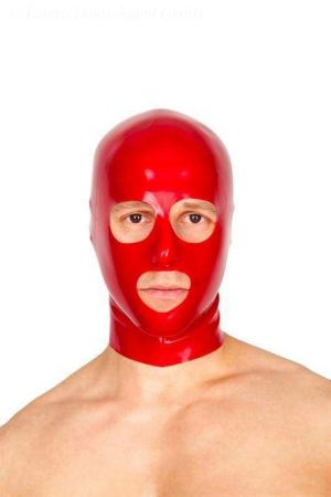 Latex Men's Hood, Thick Latex