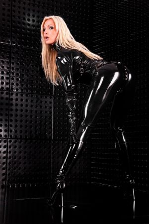 Women's Catsuit With Zipper