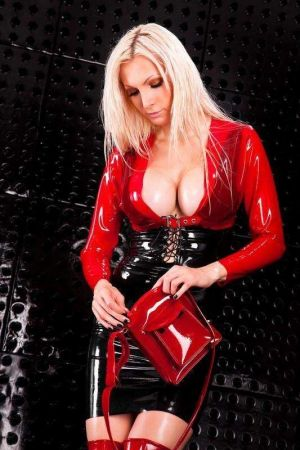 Latex Bolero Jacket With Buckle 3276