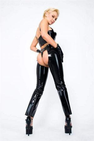 Latex Women's Chaps