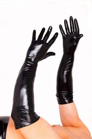 Elbow Length Surgical Gloves, Thin Latex 1355M