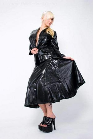 Latex Full Skirt  3010