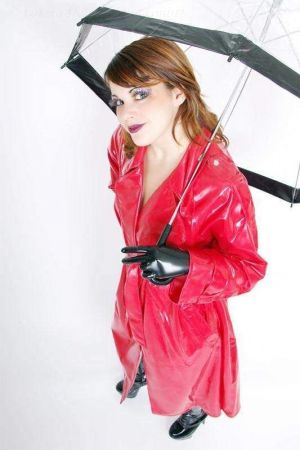 Latex Women's Raincoat 3012D