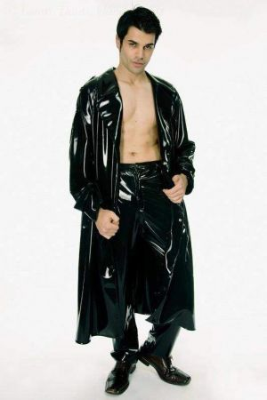 Latex Men's Raincoat
