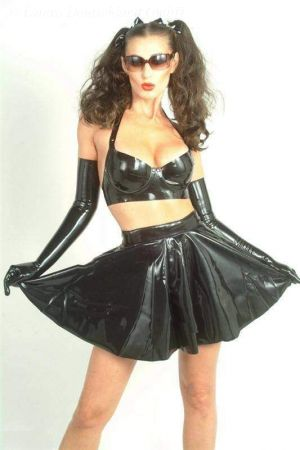 Latex Swinger Skirt