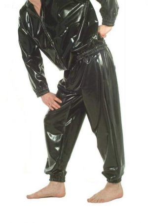 Latex Sweatpants