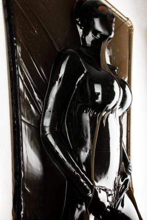 Latex Vacuum Bed, 100 x 200 cm