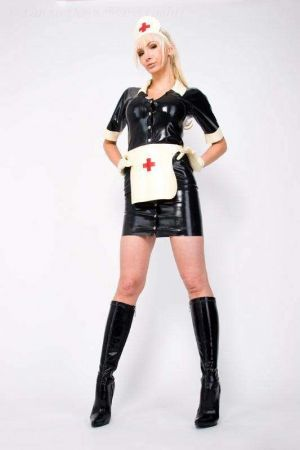 Latex Nurse Uniform