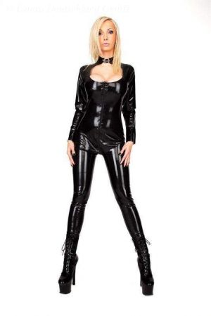Women's Catsuit With Decollete 3068
