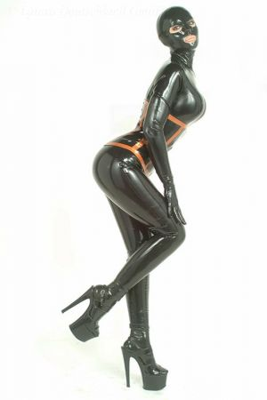 Catsuit With Front Zipper  3085A