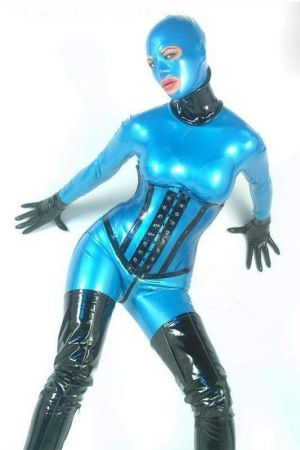 Neck Corset, Thick Latex