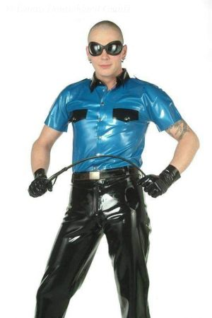 Latex Men's Uniform Shirt  3115