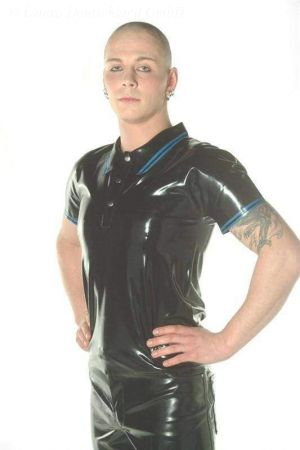 Latex Polo Shirt 3129