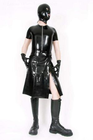 Latex Kilt, Thick Latex