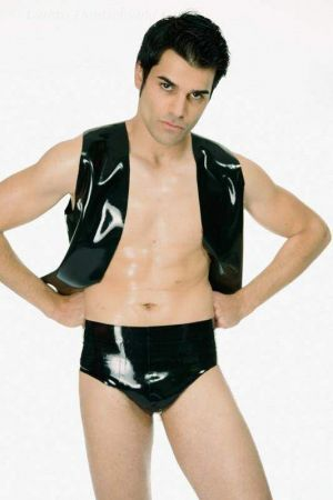 Latex Men's Briefs, Full