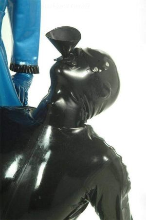 Latex Mask Attachment Funnel Gag