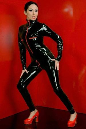 Catsuit With Zippers
