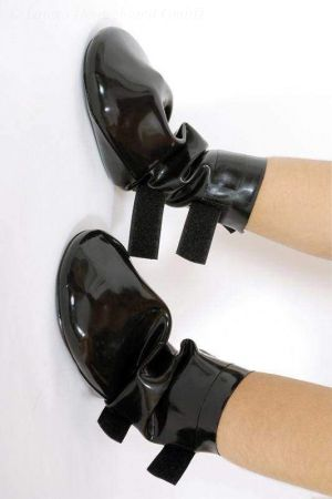 Latex Dog Boots, Thick Latex 3211