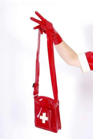Latex Nurse's Bag, Thick Latex