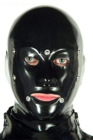 Hood, Anatomical System With Lacing, Thick Latex 3241