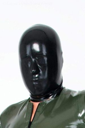 Latex Men's Hood Without Holes 3248