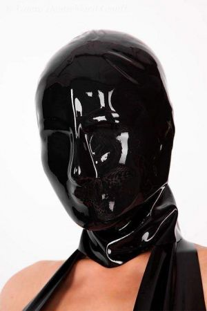 Latex Lady's Hood Without Holes 3250