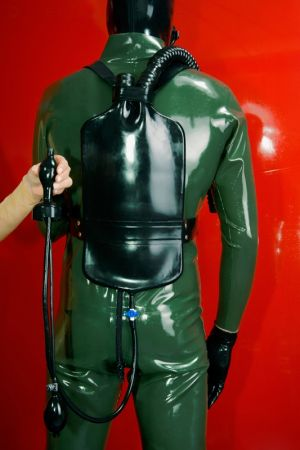 Latex Piss Backpack 3258