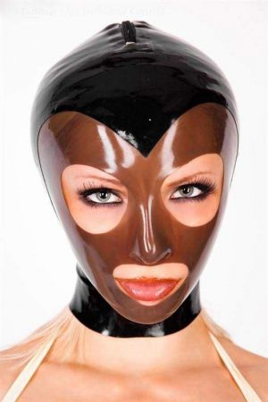 Latex Lady's Hood In 2 Colors