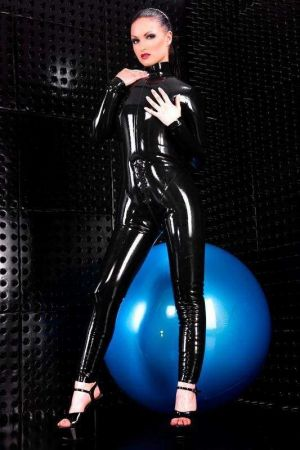 Women's Catsuit, Inflatable, Thick Latex 3282