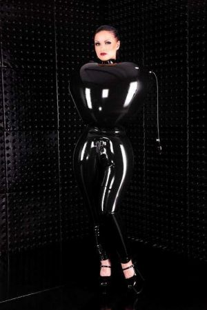 Inflatable Latex Leggings, Thick Latex  3285