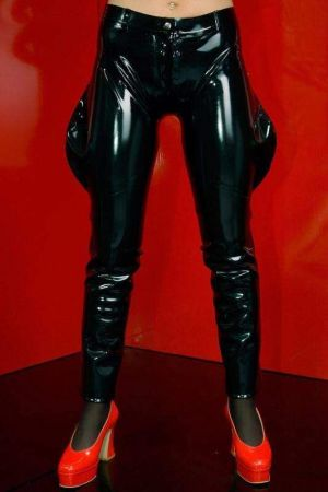 Latex Women's Jodhpurs, Thick Latex