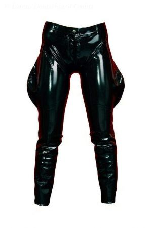 Latex Men's Jodhpurs, Thick Latex