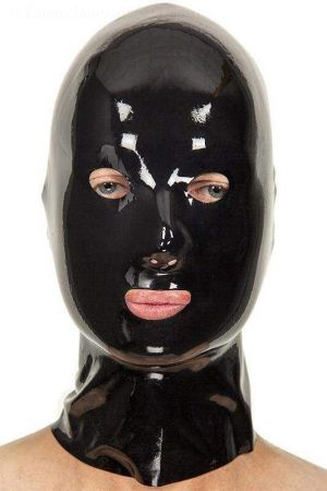 Latex Hood With Small Openings 3366
