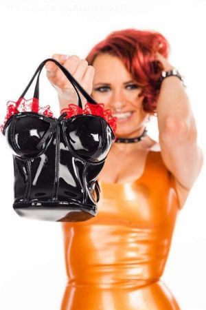 Latex Handbag  3464F