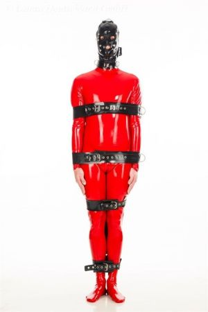 Latex Body Restraints, Thick Latex 4022