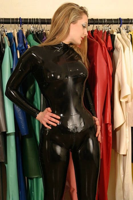 CHOICE OF LATEX CLOTHING
